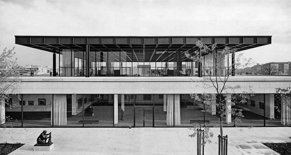 mies van der rohe new national gallery berlin wolfguenterthiel. Black Bedroom Furniture Sets. Home Design Ideas