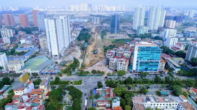 Đoạn nối từ Hoàng Quốc Việt vào Dự án Tây Hồ Tây