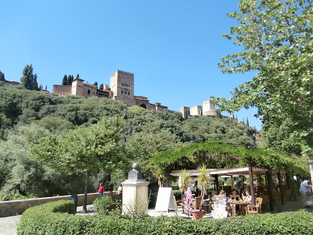 The Alhambra from Paseo de las Tristes