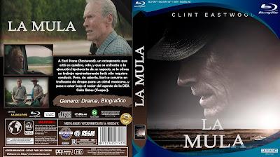 CARATULA BLU-RAY LA MULA - THE MULE - 2018 [COVER DVD]