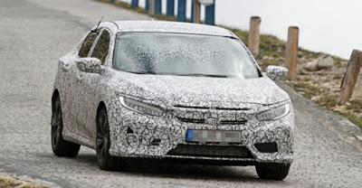 2017 Honda Civic Hatch Spy Shots