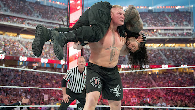 brock lesnar vs roman reigns wrestlemania 34Top WWE Event Wrestle-mania latest photo shoot pictures of Brock Lesnar V/S Roman Reigns full hd. Best New pictures collection of Brock Lesnar V/S Roman Reigns Wrestle-mania 34