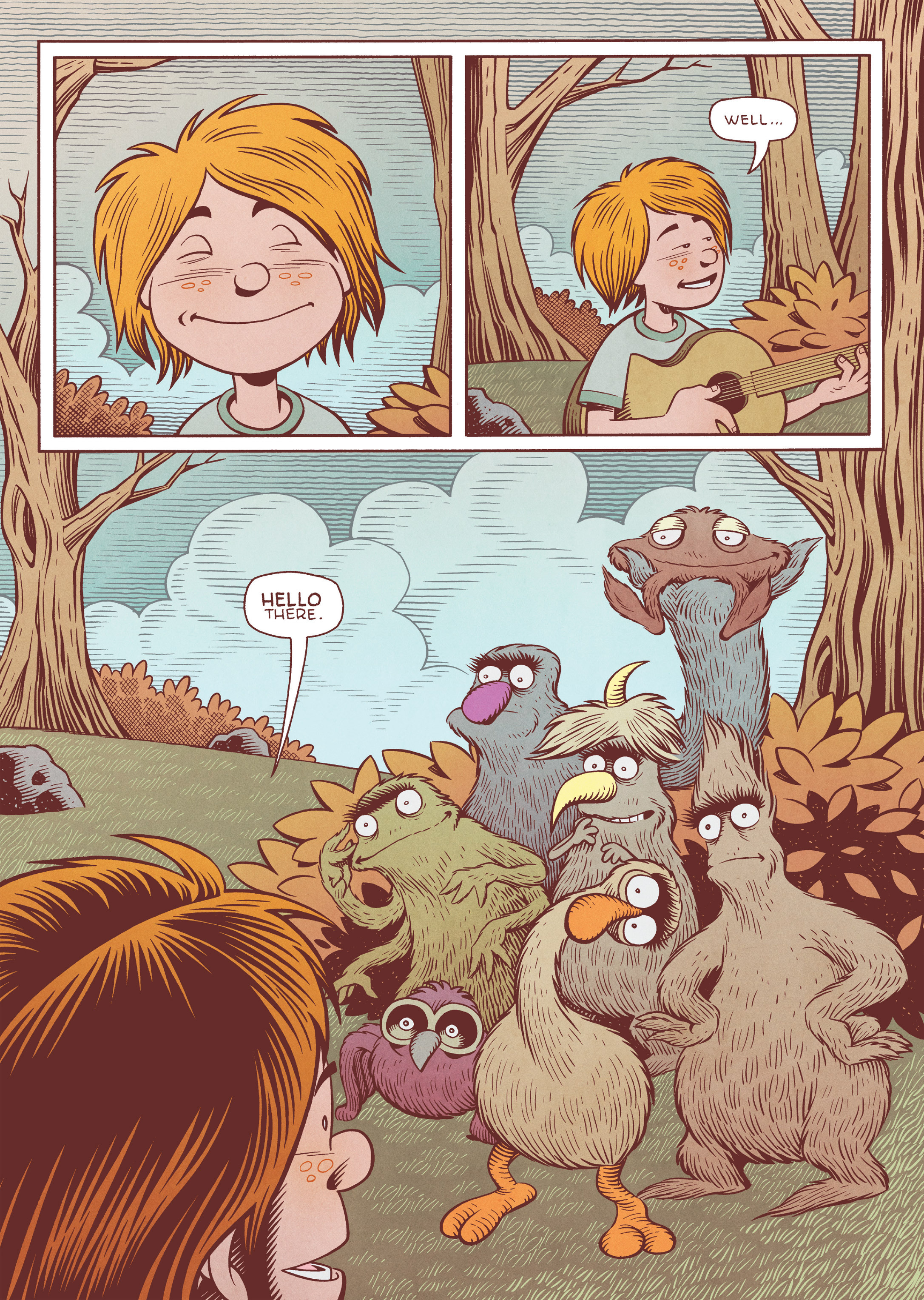 Read online Jim Henson's The Musical Monsters of Turkey Hollow comic -  Issue # Full - 35