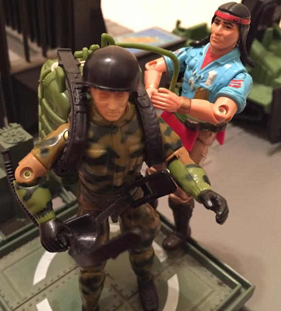 Olhos de Fenix, Flecha Veloz, Brazilian Exclusive, Estrela, 1985 Parachute Pack, Mail Away, 1984 Ripcord, 1983 JUMP, Jet Pack, G.I. Joe HQ