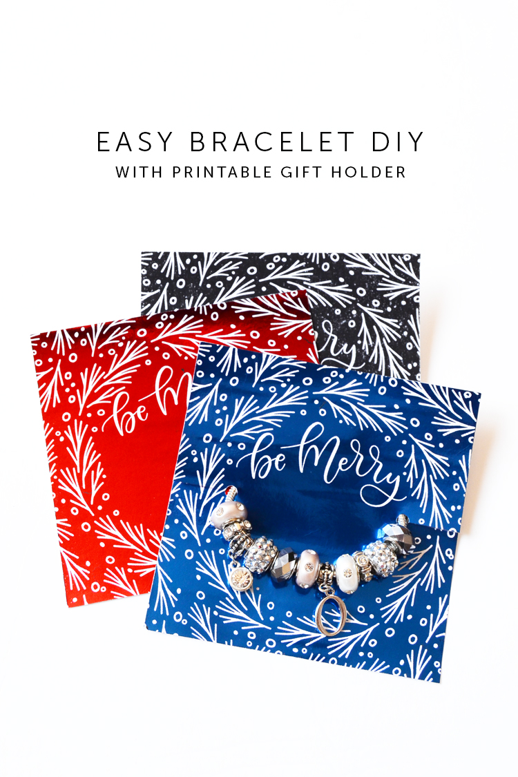 easy bracelet DIY at Crafts Unleashed