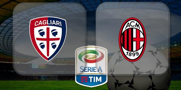 Image result for Cagliari vs AC Milan