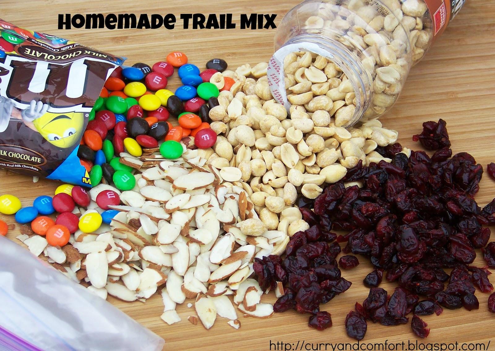 Kitchen Simmer Homemade Energy Trail Mix