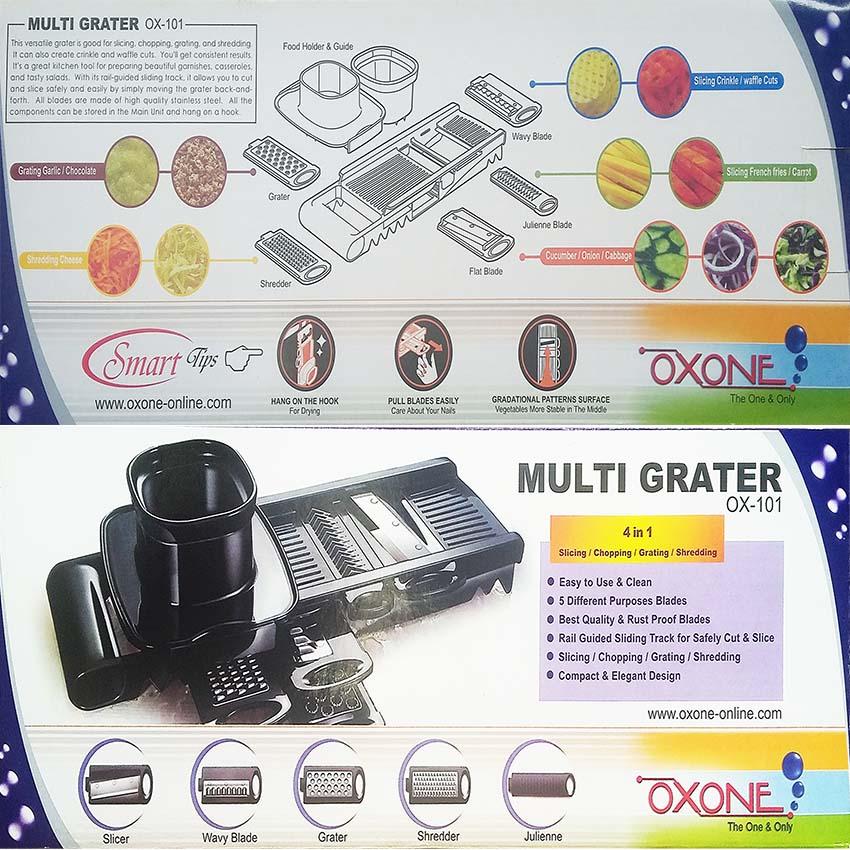 OX-101 Multi Grater - Parutan Oxone Multifungsi
