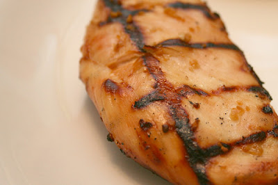 Juicy grilled BBQ chicken