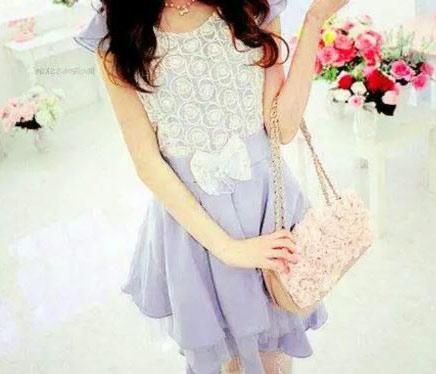 girls hidden face dp in white dress