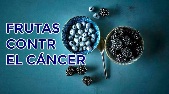 frutas con nutrientes que combaten el cáncer y desarrollo de tumores