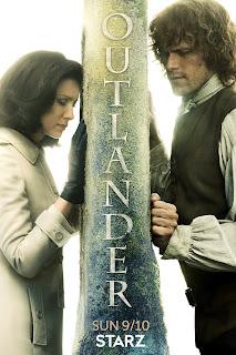 Outlander serie de televisión afiche temporada 3