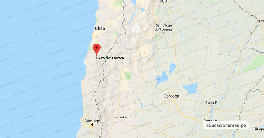 TEMBLOR EN CHILE de 5.8 Grados (Hoy Jueves 6 Septiembre 2018) Sismo EPICENTRO - Alto del Carmen - Atacama - Coquimbo - Valparaíso - ONEMI - www.onemi.cl