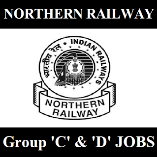 Northern Railway, NR, New Delhi, Delhi, RAILWAY, Group C, Group D, 10th, freejobalert, Sarkari Naukri, Latest Jobs, northern railway logo