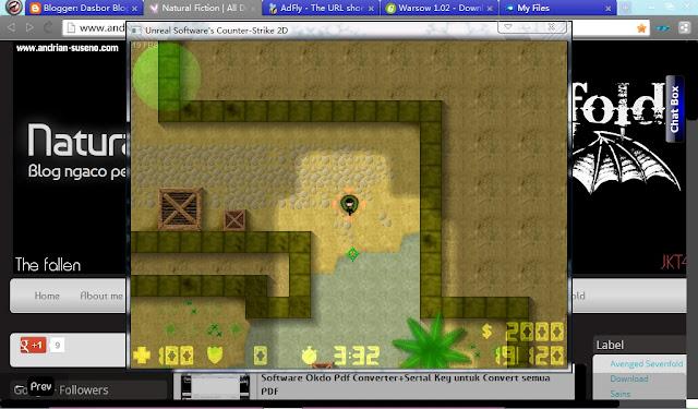 Download Game Shooter Counter-Strike 2D 0.1.2.1 Ringan