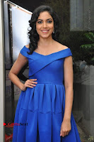Actress Ritu Varma Pos in Blue Short Dress at Keshava Telugu Movie Audio Launch .COM 0005.jpg