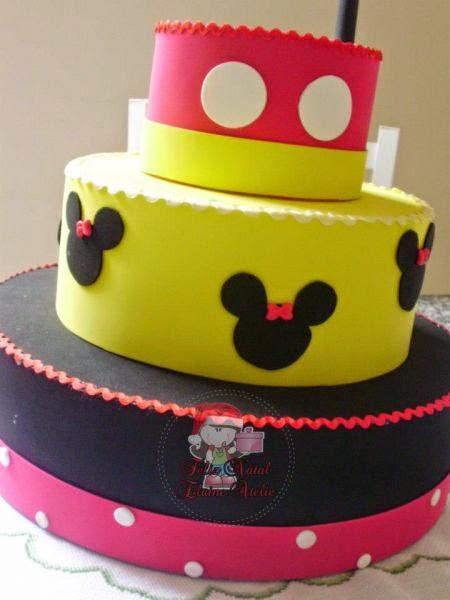 Bolos Fake Mickey Mouse