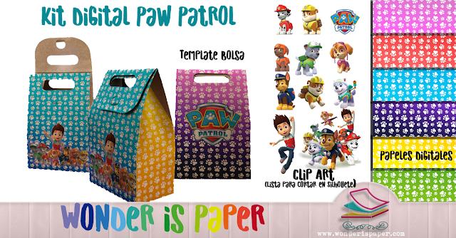 Kit digital PAW PATROL
