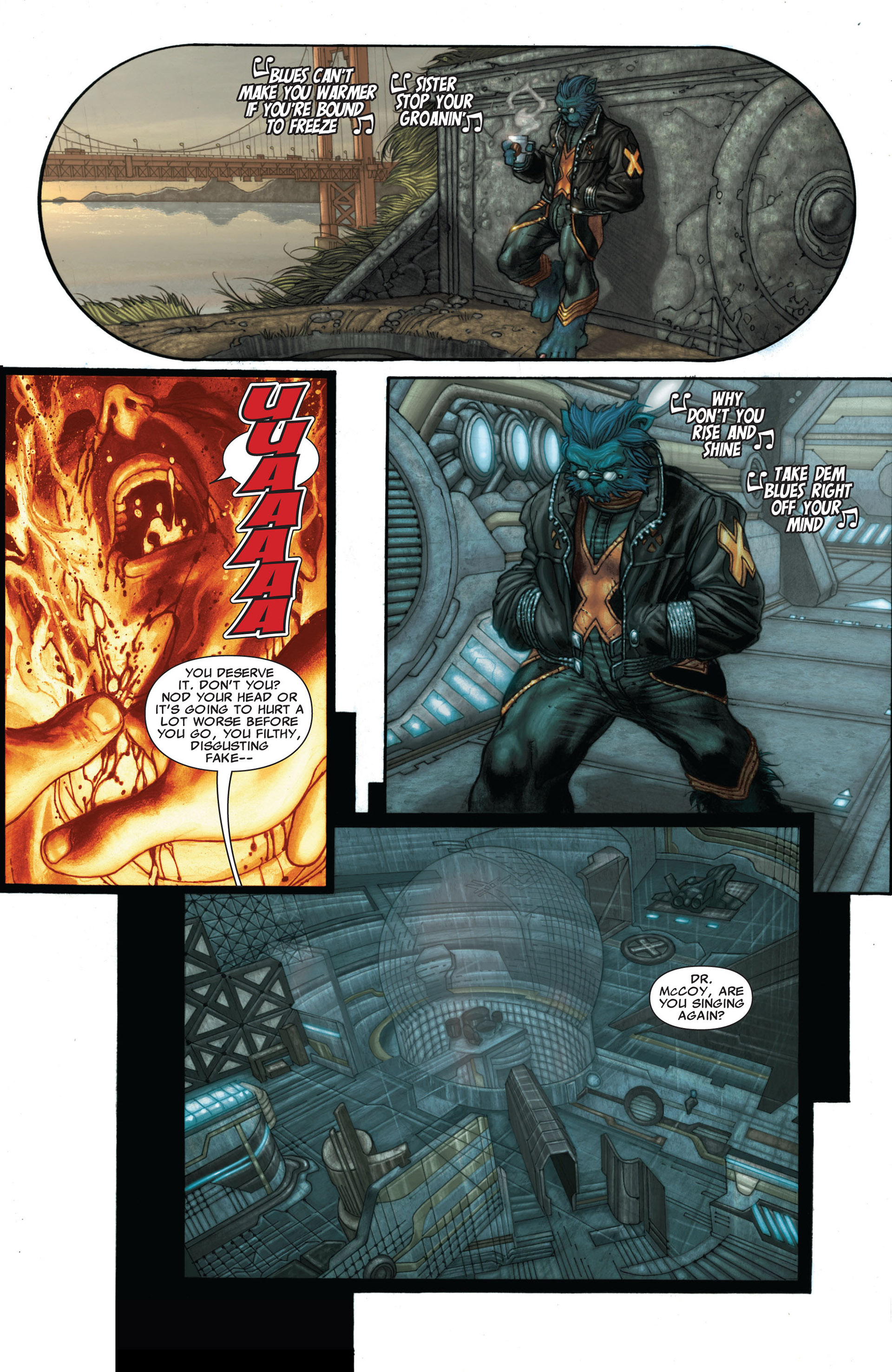 Read online Astonishing X-Men (2004) comic -  Issue #25 - 4