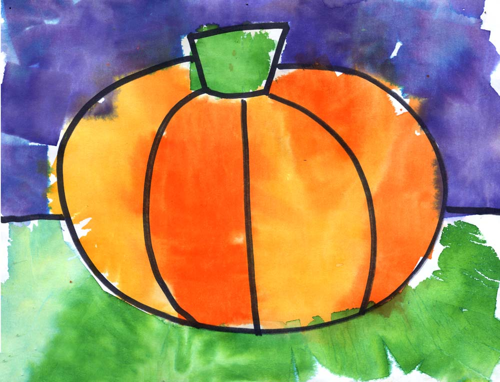 Tissue paper painting art projects for kids for Arts and craft paint