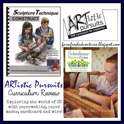ARTistic Pursuits Curriculum Review