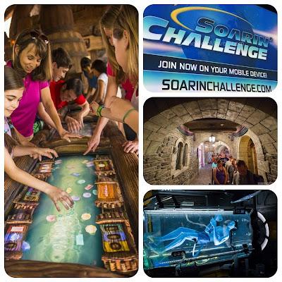 Filas interativas das atrações dos parques Disney