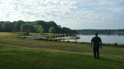 boat dock Oak Grove campground