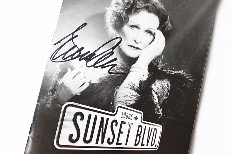 Glenn Close Sunset Boulevard 2017