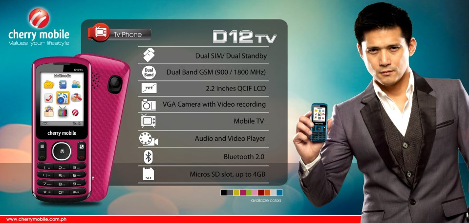 Cherry Mobile D12 TV