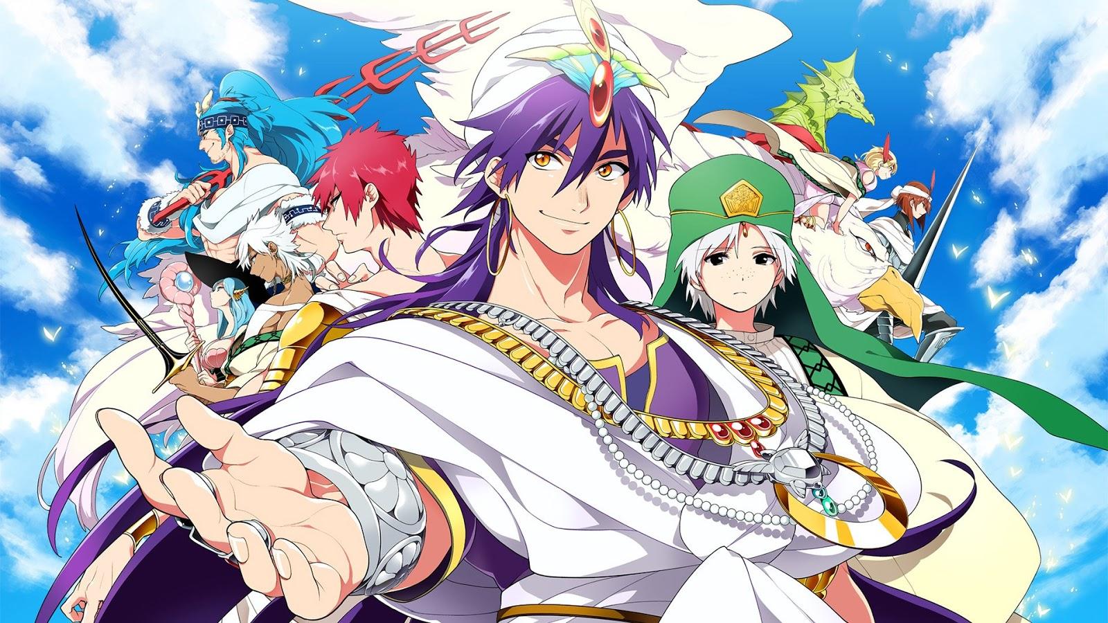 Magi the kingdom of magic bd x265 batch subtitle indonesia