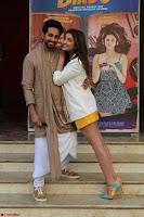 Parineeti Chopra with Ayushmann Khurrana at the Launch of Trailer of Meri Pyaari Bindu 003.JPG