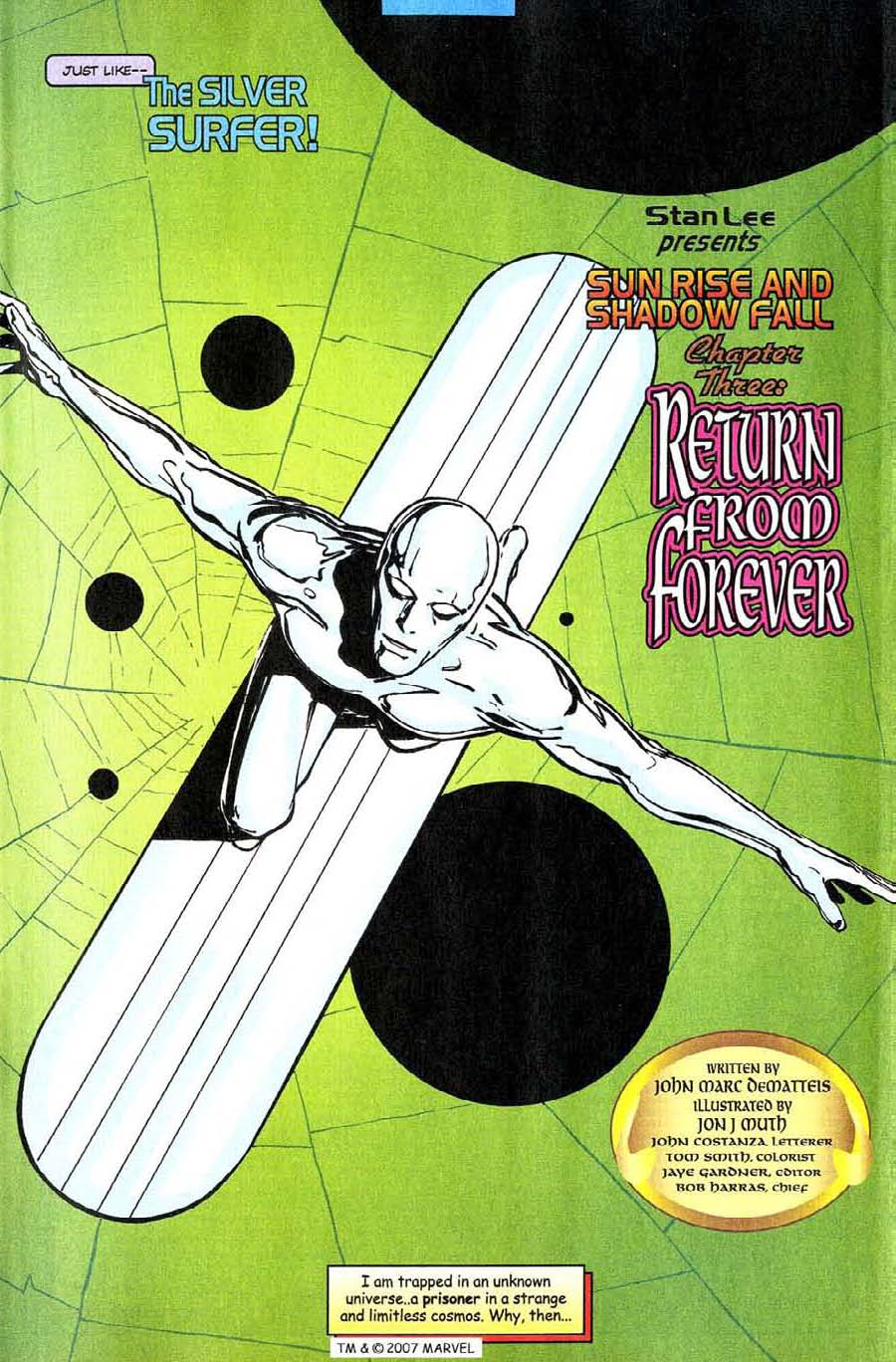 Read online Silver Surfer (1987) comic -  Issue #142 - 7