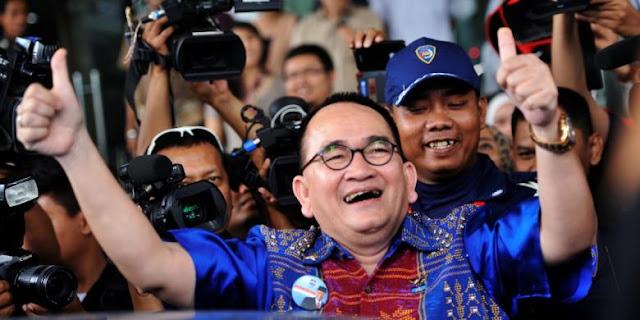 "Sanusi Ditangkap KPK, Ruhut Sebut ""Maling Teriak Maling"" Sanusi Kader Gerindra Paling Sering Tuding Ahok"