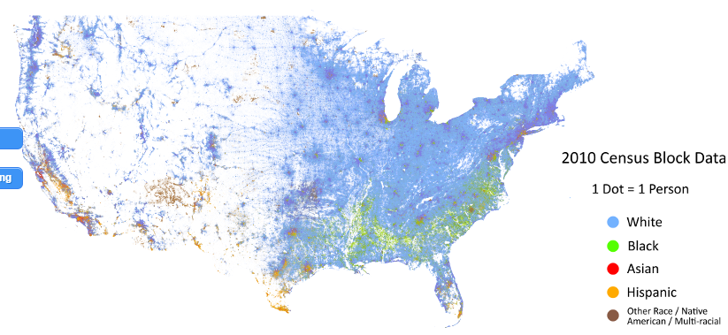 Mr Morris Site Us Demographics Map 2010 Census - Us-demographics-map