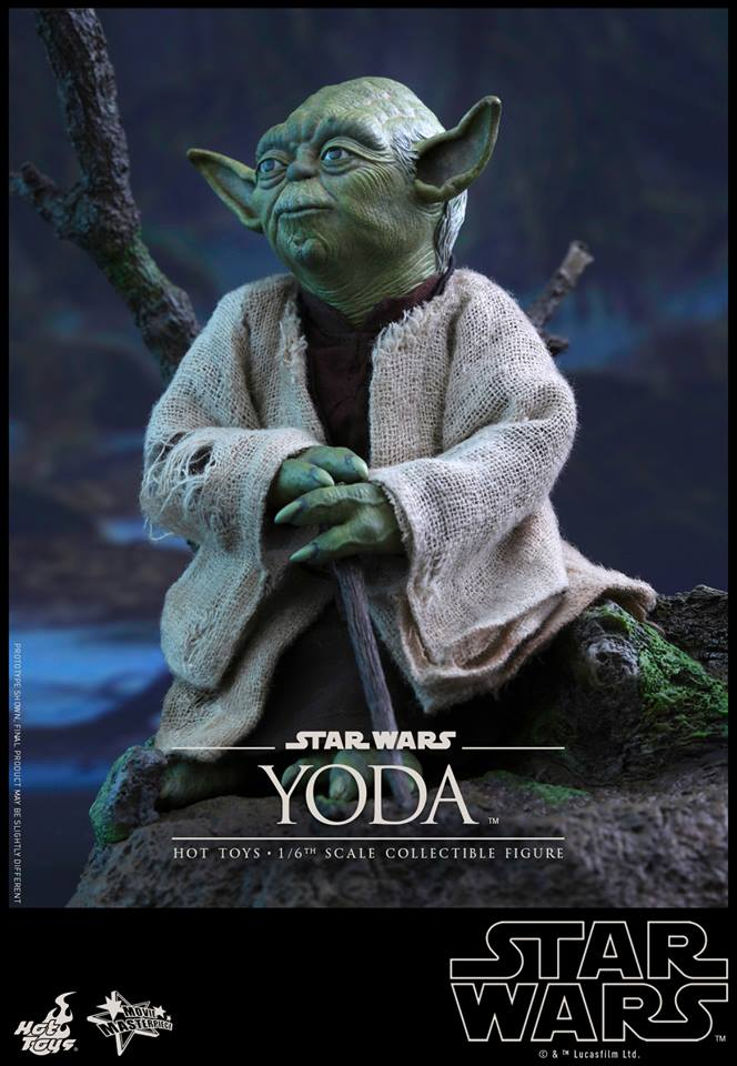 Osr Star Wars Episode V 1 6th Scale Yoda Collectible Figure