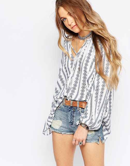glamorous peasant top, festival style shirt,