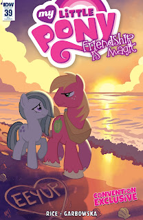 MLP Friendship is Magic #39 Comic by IDW Ponycon NYC Variant by Tony Fleecs