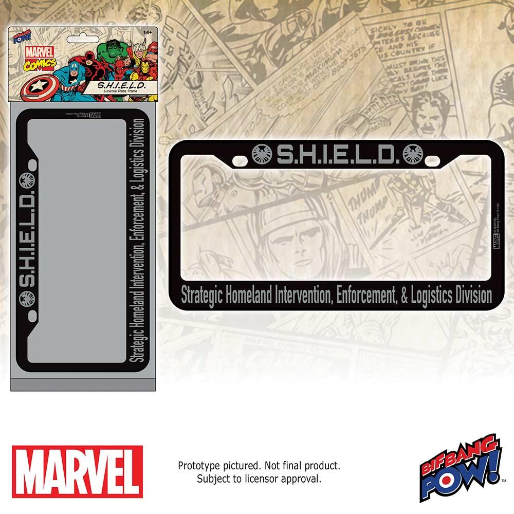 BifBangPow: New Marvel Avengers License Plate Frames - The Roadways ...