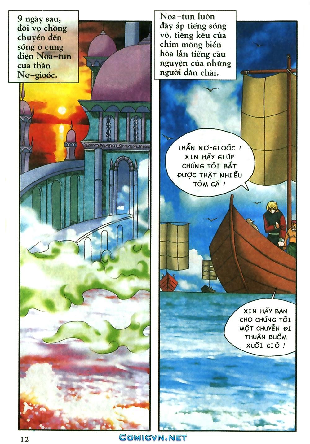 Thần thoại Bắc Âu - Chapter 18: Thần sấm sét - Pic 13