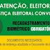 COMEÇA O RECADASTRAMENTO BIOMÉTRICO PARA OS ELEITORES DA COMARCA DE SÃO JERÔNIMO DA SERRA