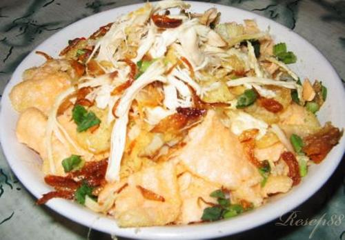 resep untuk membuat bubur ayam bandung