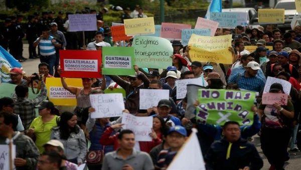 Exigen en Guatemala elegir un fiscal que elimine la corrupción