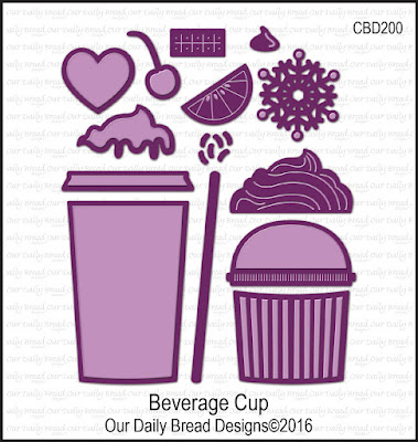 Our Daily Bread Designs Custom Die: Beverage Cup