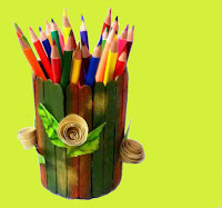 Tutorial tempat pensil bentuk tabung