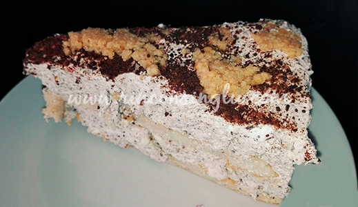 tarta de turron y chocolate sin gluten sanlucar