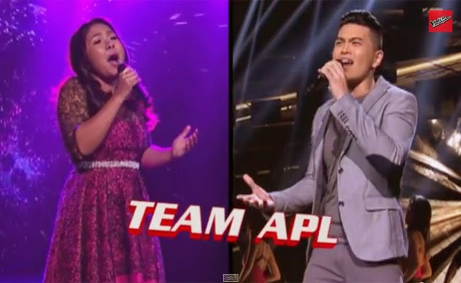 Watch Team Apl: Alisah Vs Daryl of The Voice Of the Philippines Season 2 Semi Finals February 21, 2015