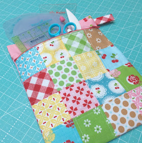 Bee In My Bonnet Sew Cherry 2 Scrappy Crossroads Block