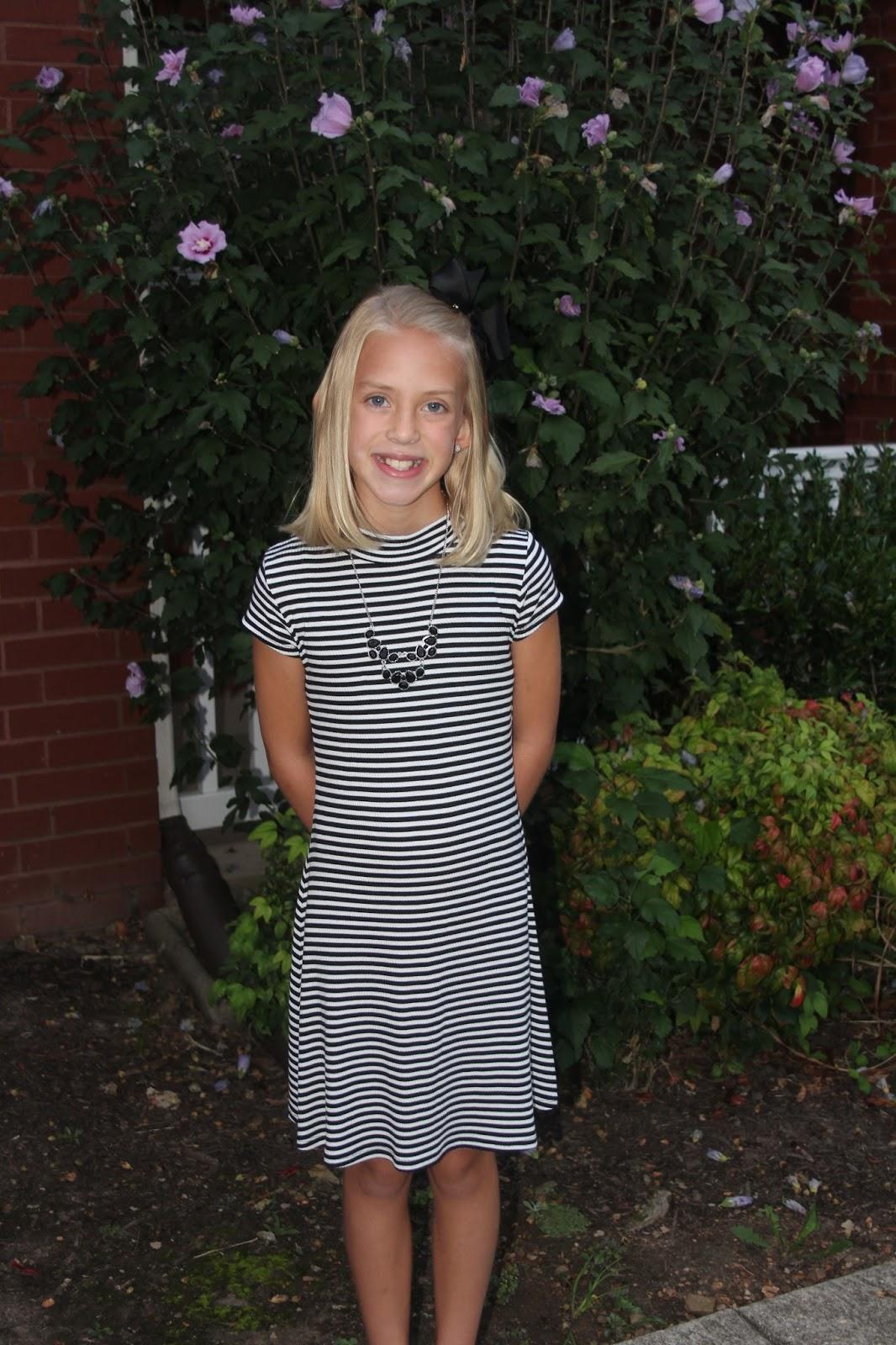 Sharpless Family Blog: Day One….178 to go! Mia 4th Grade