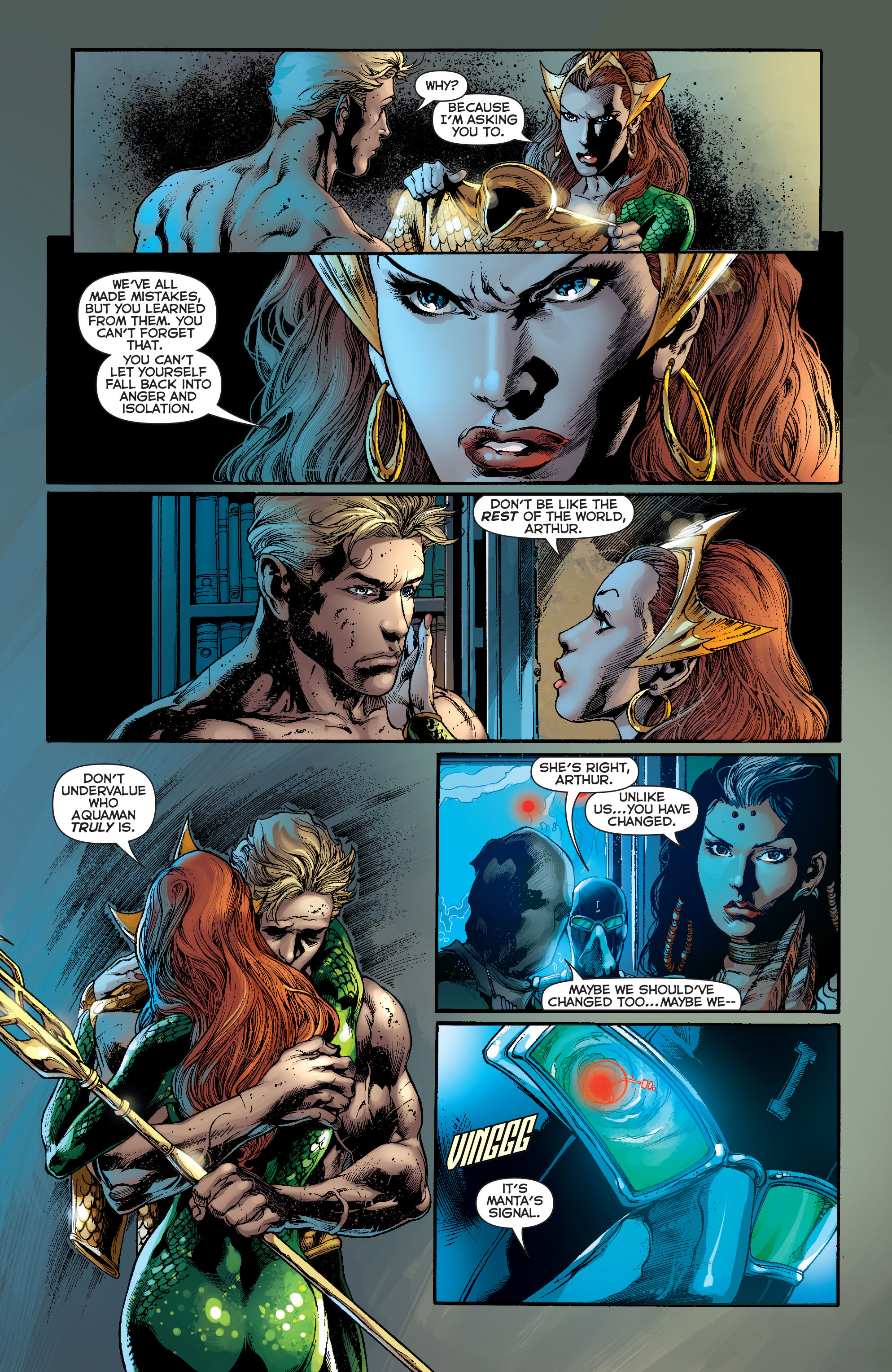 Read online Aquaman (2011) comic -  Issue #13 - 8