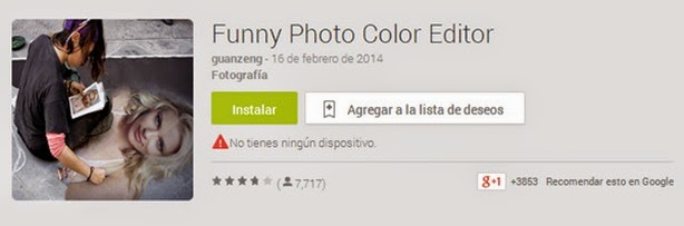 funny photo color editor
